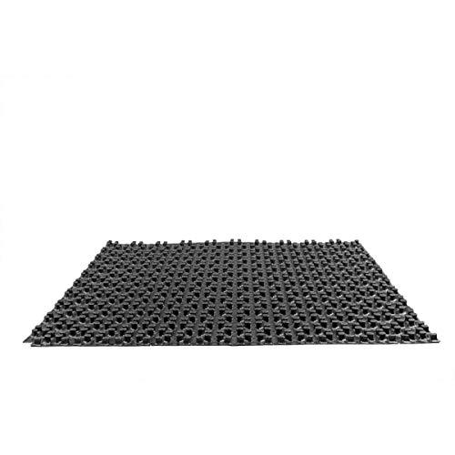 Fußbodenheizung Noppenplatte Rohrträgerplatte o. Dämmung 90m²