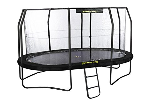 JumpKing Gartentrampolin JumpPod – 518 cm x 427 cm