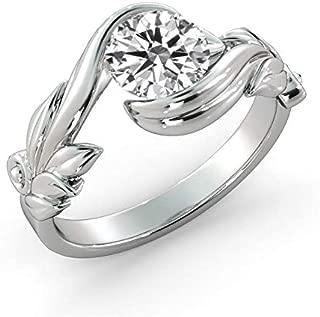 two karat princess cut diamond ring