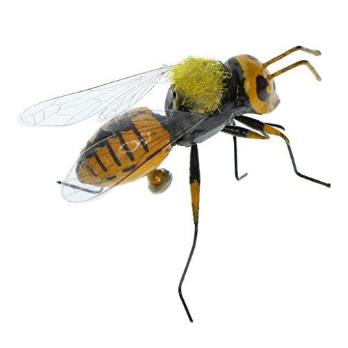 Dolity Realistische Deko Insekten - Biene, 5x3cm