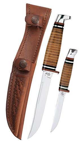 Case Two-Knife Leather Hunter...