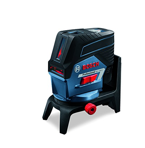 Bosch Professional Livella Laser GCL 2-50 C (laser rosso, con app, supporto, treppiede BT 150, raggio d'azione visibile: fino a 20 m, 4x batterie AA, confezione in cartone)