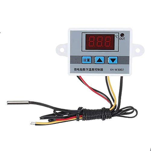 CLJ-LJ XH-W3002 Micro termostato digital de alta precisión de control de temperatura Interruptor de calefacción y refrigeración de precisión 0,1