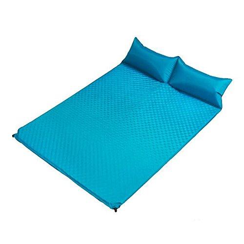 XY&CF Schnell automatische aufblasbare Kissen 2,5 cm dick Outdoor-Camping feuchtigkeitsdichten aufblasbaren Kissen 185 * 130 * 2,5 cm (Farbe : D)