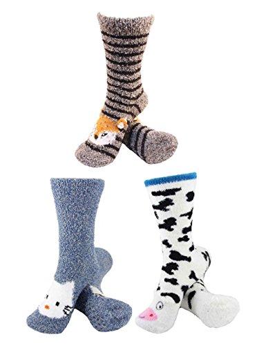 Soft & Warm Animal Sock Sets