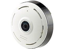 7links 360 Kamera: IP-Panorama-Überwachungskamera für 360°-Rundumsicht & Nachtsicht, 960p (360 Grad Kamera Überwachung)