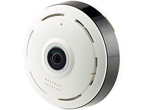 7links 360 Kamera: IP-Panorama-Überwachungskamera für 360°-Rundumsicht & Nachtsicht, 960p (360 Grad Überwachungskamera)