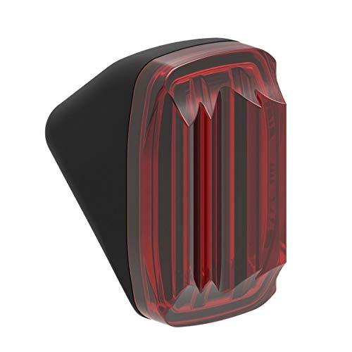 Lezyne Fender STVZO schwarz-glänzend rotes Licht, 1-LED-ERFNDST-V1 E-Bike Beleuchtung, m