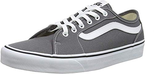 Vans Herren Filmore Decon Sneaker, Grau ((Canvas) Pewter/White 4wv) 43 EU