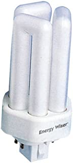 Bulbrite 860545 55 W Non-Dimmable T5 4-Pin Cfl Bulb Base 10 Pack 2G11 Frost