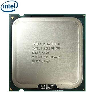 Intel Core E7500 - Procesador (Intel® Core™2 Duo, 2,93 GHz, LGA 775 + AM2/2+, 45 NM, E7500, 64 bits)