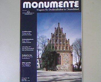 Monumente - 12. Jahrgang, Nr. 5/6, 2002. Themen u.a.: Frankfurt/Oder: Warten auf die gotischen Fenster. Magazin für Denkmalkultur in Deutschland