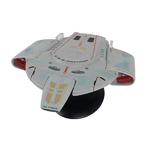 Star Trek - die offizielle Raumschiffsammlung - U.S.S. Defiant NX-74205 Raumschiff 22 cm