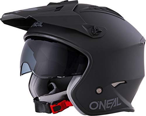 Oneal Volt Helmet Solid Black L (59/60cm) Casco Moto MX-Motocross, Adultos...