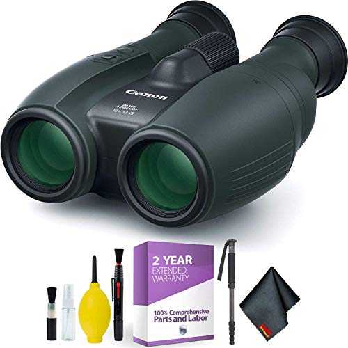 Lowest Prices! Canon 10x32 is Image Stabilized Binocular + Cleaning Kit Essential Accessories Bundle