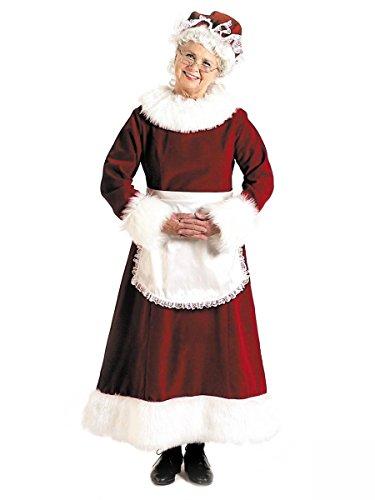 Mrs. Claus Adult Costume - Medium