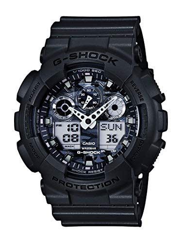 Casio Fashion Watch (Model: GA-100CF-8ACR)
