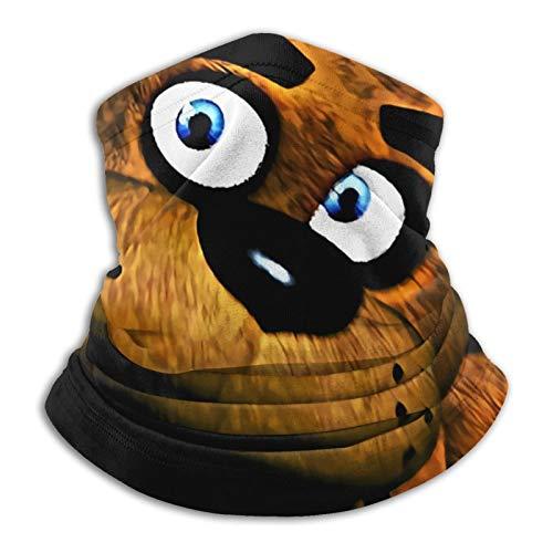FN-AF Five Nights at Freddy's Flag - Cubierta para la cara sin costuras con protección UV para la cara del cuello