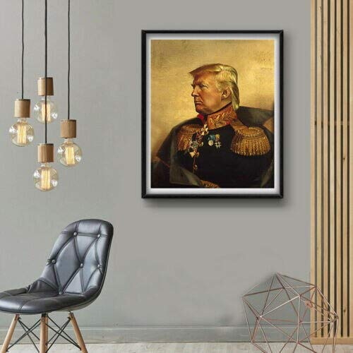 wtnhz Poster drucken Geschenk US-Präsident Ölgemälde Wandkunst Leinwand Malerei Bild Wohnzimmer Dekoration Kein Rahmen