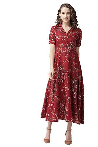 Bollyclues Women's Floral Maxi Dress