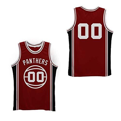 Martin Kyle Lee Watson 00 Monarch High School Stitch Basketball Jersey Rim Size (34) Maroon