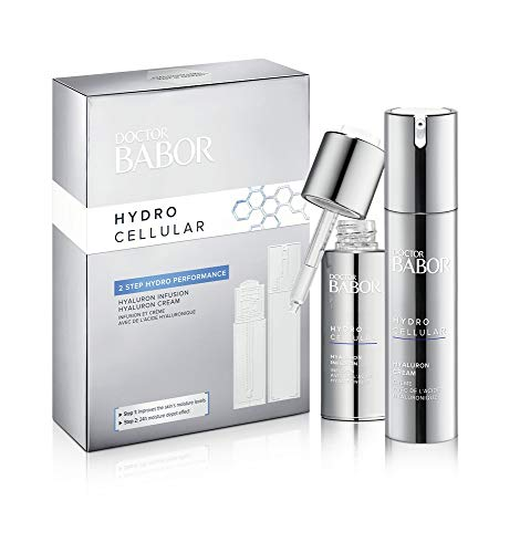 Babor Set Hydro Cellular: Hyaluron Cream, 50 ml + Hyaluron Infusion 30 ml