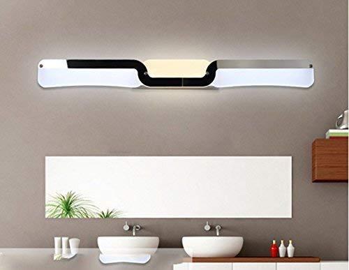 Sccarlettly Wandleuchte Led Spiegel Projektor Waschbecken Ideal Dekorative Make Up Front Nebelscheinwerfer Spiegel Versiegelt Elektrische (Color : 60 Cm-Size)