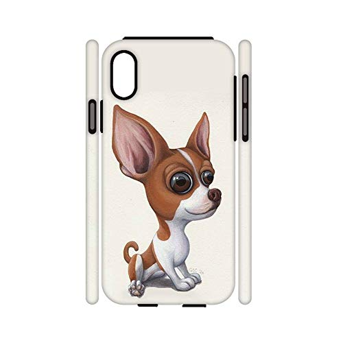 out of The Ordinary Compatible with iPhone X XS Print Chihuahua 6 Hard Pc Shells For Boy Choose Design 139-1