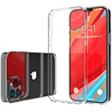 Luvvitt Clear View Case Compatible with iPhone 12 and iPhone 12 Pro with Shockproof Slim Hybrid TPU Bumper and Hard PC Scratch Resistant Back Designed for Apple iPhone 12 and 12 Pro 2020 6.1' - Clear