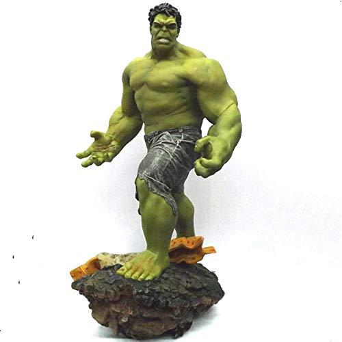 FJKYF Anime Spielzeugsuper Größe 1/4 Skala The Avengers 3 Hulk Grün Riesig PVC Actionfigur Statue Collection Modell Spielzeug Kinder Kinder Geschenk 60Cm 8Kg