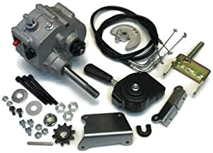 Go Kart/Cart Forward Reverse Gear Box for 2 HP - 11 HP Engine Motor - 35 40 41
