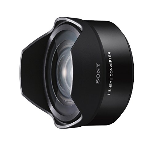 Sony VCLECF2 10-13mm f/2.8-22 Fisheye Lens Fixed Prime Fisheye Converter for Sony Mirrorless Cameras