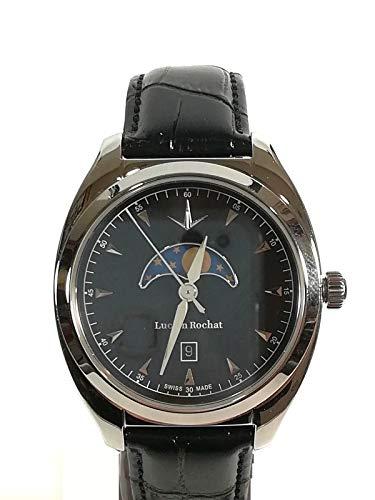 LUCIEN ROCHAT Lunel RO451110002 - Reloj de hombre de acero y piel, 10 ATM original
