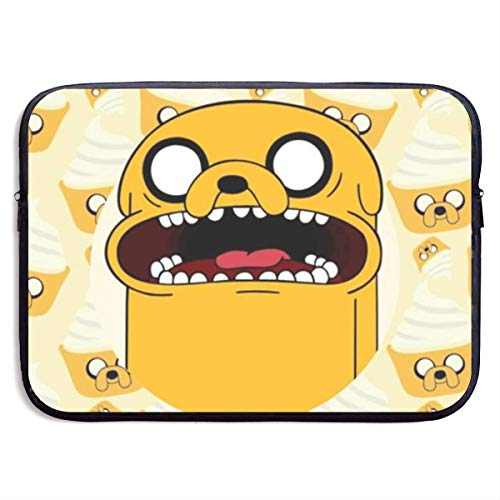 Adventure Time Finn Jak Laptop Sleeve Bag 15″ Computer Case Tablet Briefcase Waterproof Portable Messenger
