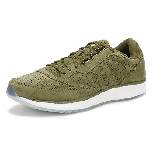 Saucony Mens Freedom Runner Gym Fitness Running Shoes Green 10 Medium (D)