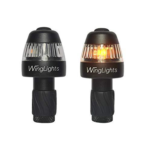 CYCL WingLights 360 Fixed - Intermitente para Bicicleta, Unisex, Negro, Talla única