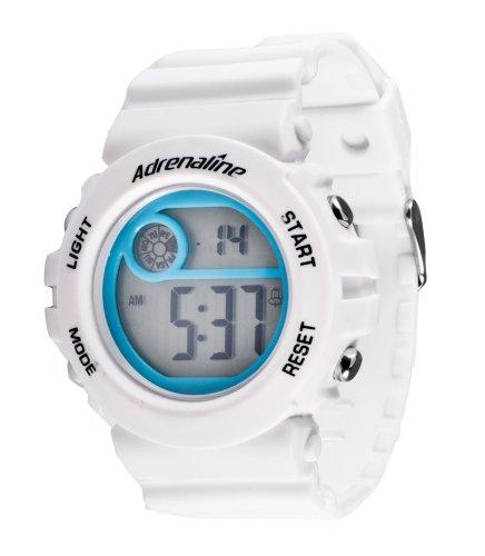 Freestyle AD50706 - Reloj Digital de Cuarzo para Mujer con Correa de Caucho, Color Blanco