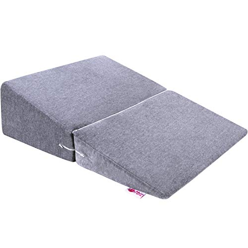 Meiz 三角枕 なだらかクッション 敬老の日 逆流性食道炎 傾斜枕 高反発 マット 背もたれ 介護用品 足枕 体位変換 おばあちゃん