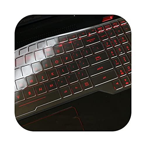 Keyboard cover - Carcasa protectora de teclado para ASUS Rog Strix G G531 15 G531G G531Gu G531Gd G531Gt G531Gw de 15,6 pulgadas (silicona TPU)