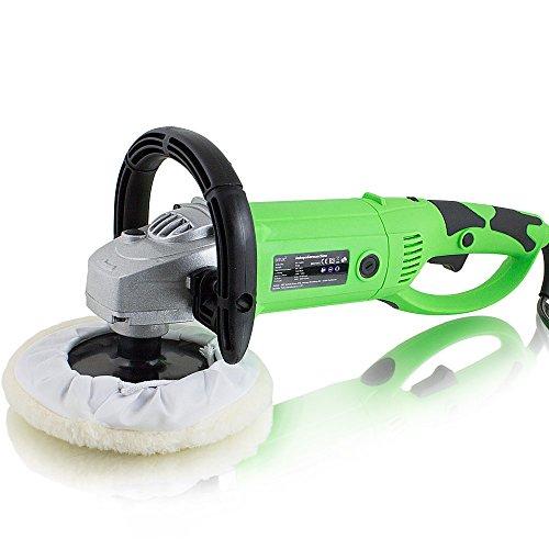 BITUXX® Auto Poliermaschine 1500Watt Schleifmaschine Autopolierer Poliergerät mit drehbaren Griff