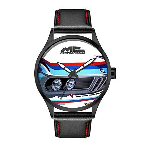 MCPerformance Armbanduhr für Herren, Analog, Quarz Japan mit Kunstlederarmband MCPerf31