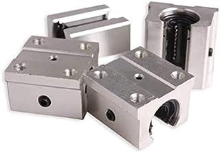 39 11 mm 4 piezas SBR20UU Bloque deslizante de rodamiento de movimiento lineal abierto Impresora 3D Piezas de CNC 20 Rodamiento de bolas