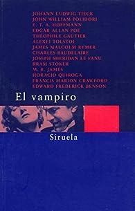 El vampiro par J. W. Polidori