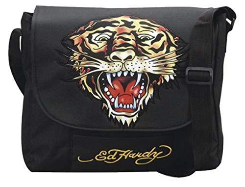Ed Hardy Tasche Couriertasche Tiger black