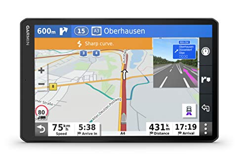 Garmin dēzl LGV1000 MT-DTruck Sat-nav with 10-Inch Display, Custom Truck Routing and Several Mounting Options, Black