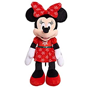 Disney Minnie Mouse 2020 Large Holiday Plush - 41pUt3LXgpL - Disney Minnie Mouse 2020 Large Holiday Plush