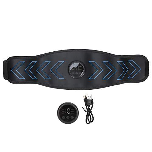 Cinturón de músculos abdominales, Cinturón de cintura Calentamiento Electro estimulación muscular para fortalecer los músculos abdominales Cinturón de músculos abdominales EMS Ab Trainer Quemar grasa