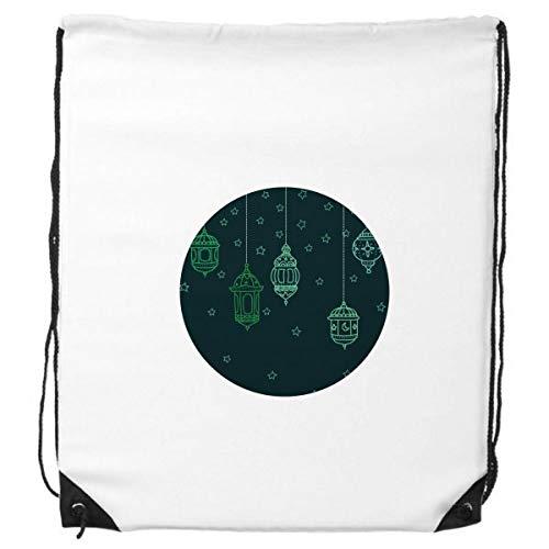 DIYthinker Laterne Einfache Geometrische Formen Muster-Rucksack Einkaufssporttaschen Geschenk