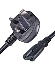 AC cable Replacement power cable compatible with Sony Playstation 4 (PS4)