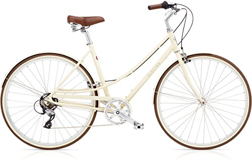 ELECTRA Damen Fahrrad Loft 7D Stadtrad, Beige, 7 Gang, Regular, 28